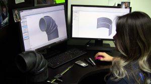 Mission Rubber 3D Modeling