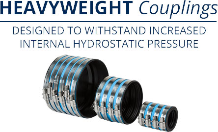 Heavyweight Couplings — Designed to Withstand Increased Internal Pressure