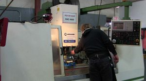 3-Axis CNC Bed Mill for Molding, Coring and Fabrication at Mission Rubber