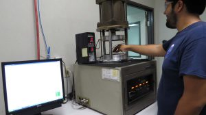 Mission Rubber Rheometer Test