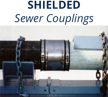 Shielded Adjustable Repair Couplings